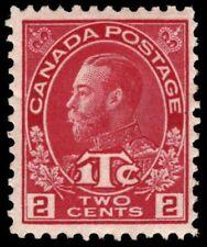 "CANADA MR3b - King George V ""Admiral"" War Tax Die Rose Red Die I (pf57204)"