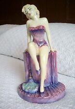 Kevin Francis Marilyn Monroe Limited Edition Ceramic Figurine Cerise Basque.