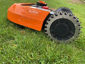 EDELSTAHL Spikes Traktionsverbesserung für Worx Landroid L Mähroboter 225mm Rad