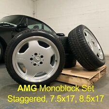Oem Mercedes Benz Amg 17 Staggered Monoblock Set Wheelsrims