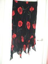 Calf Length Unbranded Regular Asymmetrical Skirts for Women