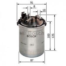 MANN Filtro carburante elemento in metallo Libero per Audi A3 1.6 TDI 1.9 TDI 2.0 TDI