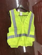 Safety Vest Reflective Strips Pockets ANSI/ISEA 107-2010 Class 2 Level 2