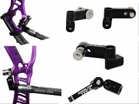 New Avalon V-Bar Tec X Mono Adjustable 5/16 Uni Bar Mount for Compound Bow Black