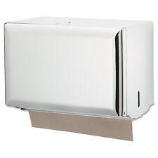San Jamar Singlefold Paper Towel Dispenser White 10 3/4 x 6 x 7 1/2 T1800WH