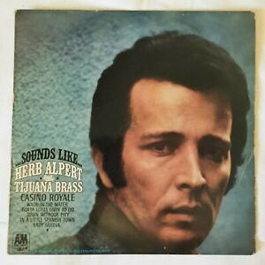 Vintage Sounds Like Herb Alpert and the Tijuana Brass 12 inch Vinyl Record
