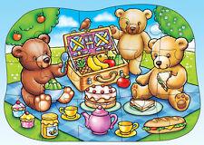TEDDY BEAR'S PICNIC - Teddybären Picknick Puzzle, Orchard Toys Bodenpuzzle