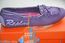 REPLAY & SONS bambini scarpa/Mocasin modello: Sloten VIOLA TG. 30/%%
