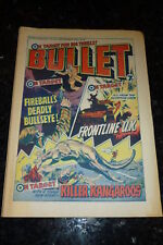 BULLET Comic - Issue 33 - Date 25/09/1976 - UK Comic