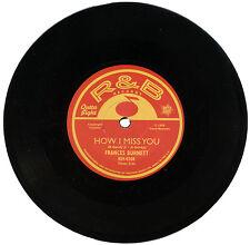 """FRANCES BURNETT  """"HOW I MISS YOU""""    SUPERB EARLY R&B DANCER    LISTEN!"""