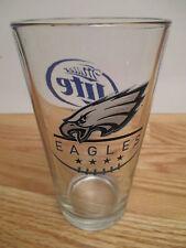 """Miller Lite Time Beer Philadelphia Eagles 6"""" Glass 000019B0"""