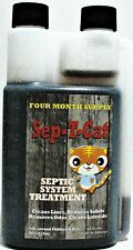 Sep-T-Cat Concentrated Formula Septic Tank Treatment Camper RV 4month supply