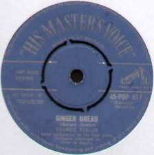 "FRANKIE AVALON ~ GINGER BREAD / BLUE BETTY ~ 1958 UK 7"" SINGLE ~ HMV POP 517"