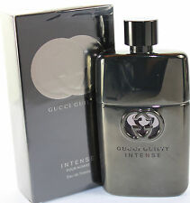 GUCCI GUILTY INTENSE POUR HOMME BY GUCCI 3.0 OZ EDT SPRAY FOR MEN NEW IN BOX