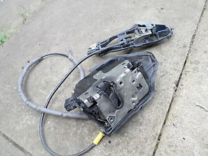 Bmw E46 Coupe/Convertible O/S Drivers side door lock/catch/mechanism,Perfect