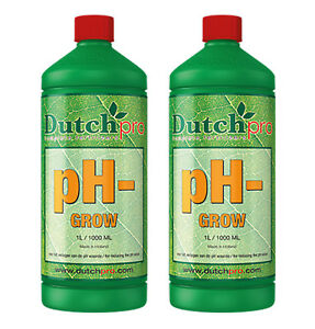 Dutch Pro pH- pH Down Reduce pH-level During Grow Phase - 1L x 2