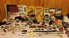 Huge Antique/Vintage Junk Drawer Lot: Knives, Sterling Silver, L@@k