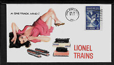 Lionel 209 New Haven & Pin Up Girl Featured on Collector's Envelope *A468