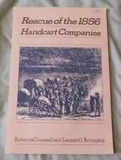 Rescue of the 1856 Handcart Companies by Arrington and Cornwall LDS Mormon Book