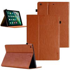 Cuero genuino funda protectora para Apple iPad mini 1 2 3 bolsa tablet Cover Case marrón