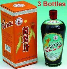 3 Bottles of Shou Wu Chih - Herbal Beverage Concentrate.