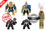 Marvel Super Hero Avengers Infinity War Lego Minifigures THANOS Hulk Figure  NEW