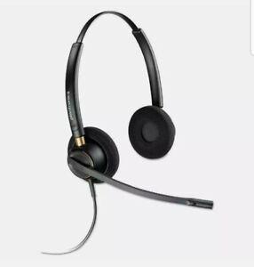 Plantronics EncorePro HW520 Binaural Over-the-Head Headset UPC # 017229144712