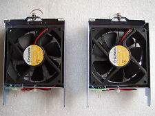 Lot Of 2 Sunon KD1209PTB1(2).H DC12V 2.9W Rackmount Chassis Fan w/ Guard