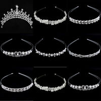 Fashion Women Jewelry Metal Crystal Rhinestone Headband Head Piece Hair Band Lot