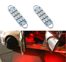 2Pcs 44mm 12-SMD 561 562 567 564 Festoon Red LED For Door Lamp Lights Bulbs