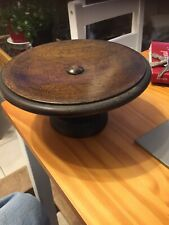 vintage Small Wooden Cake Stand