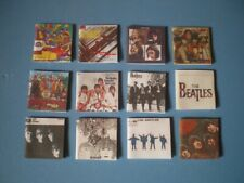 Dolls House miniatures - Music albums - THE BEATLES x 12
