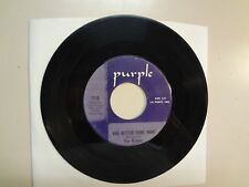"""GRAPES: You Better Come Home-When The 4 Winds Blow-U.S. 7"""" 66 Purple 110,Indiana"""
