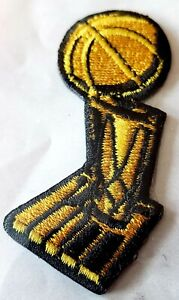 Official NBA LARRY O'BRIEN TROPHY PATCH The Finals Championship Patch NEW/MINT!