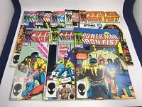 Power Man and Iron Fist 8 Issue Lot Vintage 1980s Marvel Comics Luke Cage
