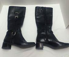 Black Naturalizer Fashion Boots Womens shoes Size 7M Brazil 15860001 EUC