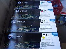 New ! 4PK GENUINE HP 9500 Imaging drum C8561A C8562A C8563A  C8560A HP 822A