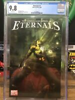 Eternals 1 Cgc 9.8 2006 Series John Romita Jr Rick Berry Cover