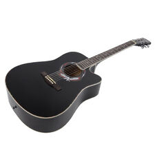 New 41 Inch Adult Size Cutaway Acoustic Guitar