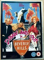 Down and Out in Beverly Hills DVD 1986 Comedy Classic Film Movie