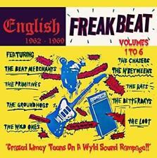 ENGLISH FREAKBEAT-VOLUMES 1-6-NEW 6 CD BOX SET