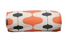 "Salmon Lava Lamp Bolster Pillow Cover 6""x16"""