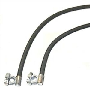 OE-Style Cloth Battery Cables for 1946-1948 Chrysler 8-Cyl