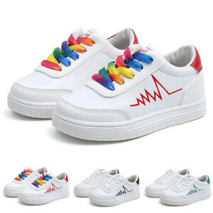 Toddler Boys Girls Kids Trainers Shoes Infant Casual Sports Running Sneaker Size