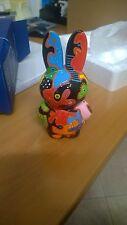 """Coniglio-Rabbit- dipinto a mano da serie""""nijntjeartparade""""LEGGI BENE TUTTO!"""