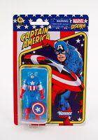 Kenner Marvel Legends Retro 3.75 Captain America Action Figure - Ships Same Day