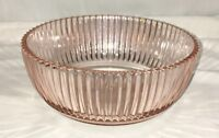 """Anchor Hocking QUEEN MARY PINK *6"""" SMALL SERVING BOWL*"""