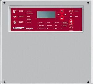 LINCE SPA 1685 SIMPLE420 CENTRALE ANTINCENDIO 4 ZONE ESPAND. A 20
