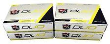 Wilson Staff DUO Golf Balls 48 Balls - Yellow-4DZ