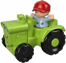Fisher Little People Vehicle and Figure - Tractor Ggt39